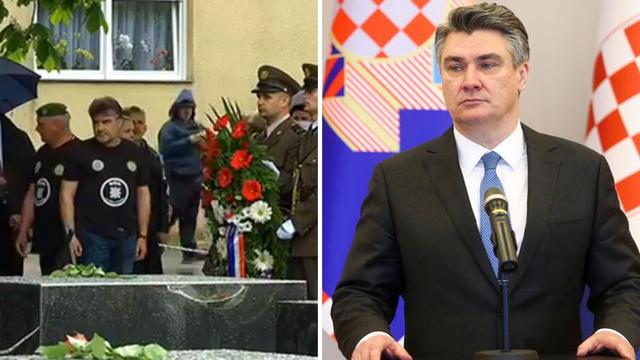 'Milanović pokazuje čvrstinu, ZDS je ustaški pozdrav...'