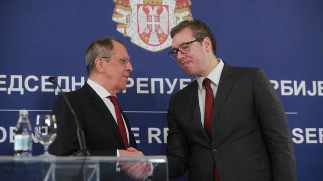 Beograd: Sastanak Aleksandra Vučića i ruskog ministra Sergeja Lavrova