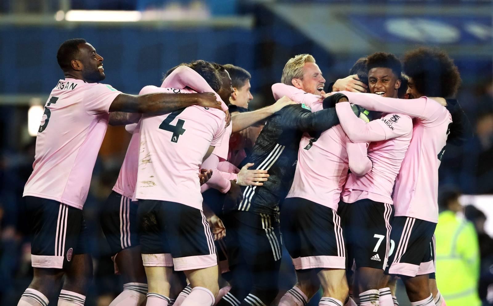 Everton v Leicester City - Carabao Cup - Quarter Final - Goodison Park