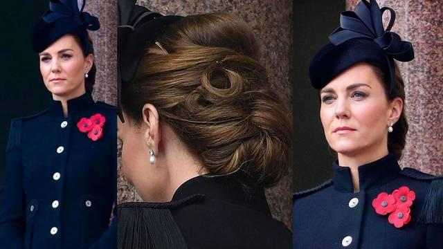 Kate Middleton svoj je vojnički kaput ukrasila s tri maka koji otkrivaju emotivnu poruku