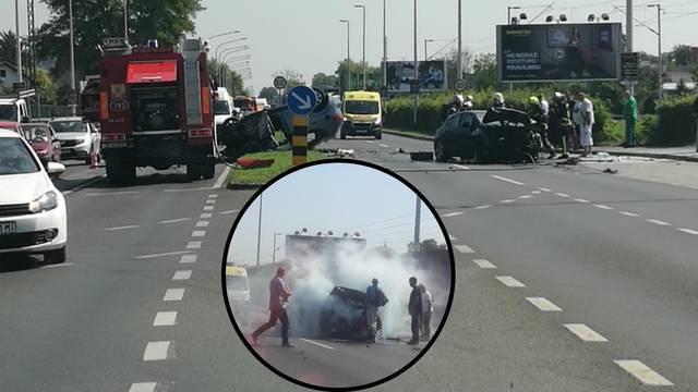 Izazvao nesreće u Gajnicama pa bježao,  lovili su ga i vozači