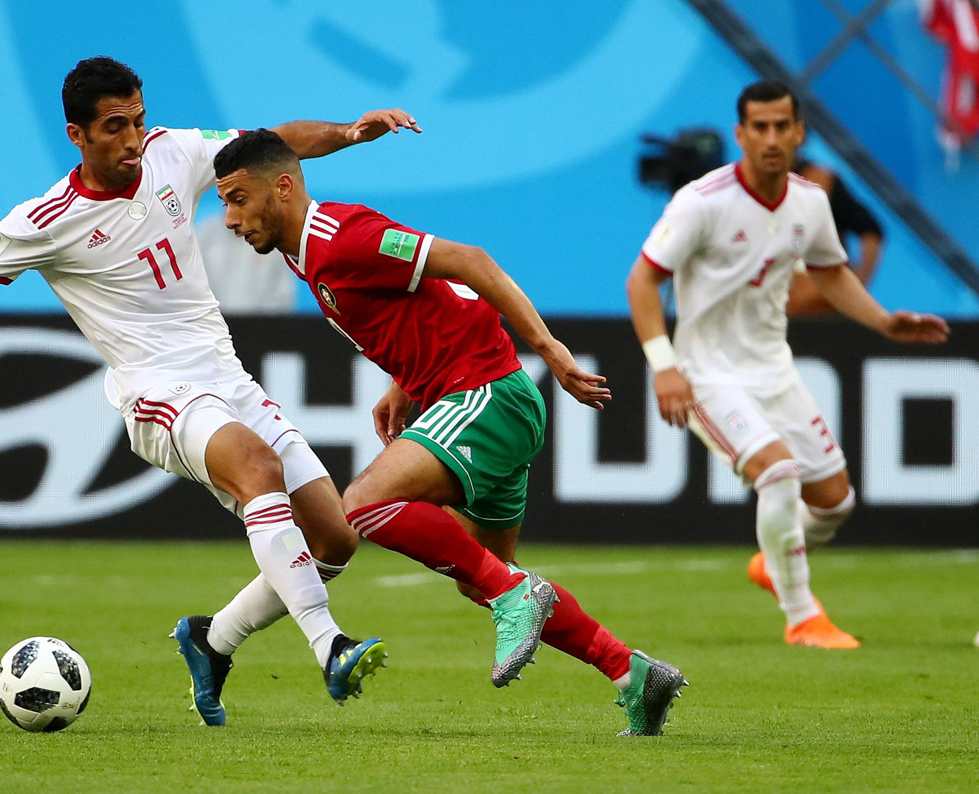 World Cup - Group B - Morocco vs Iran