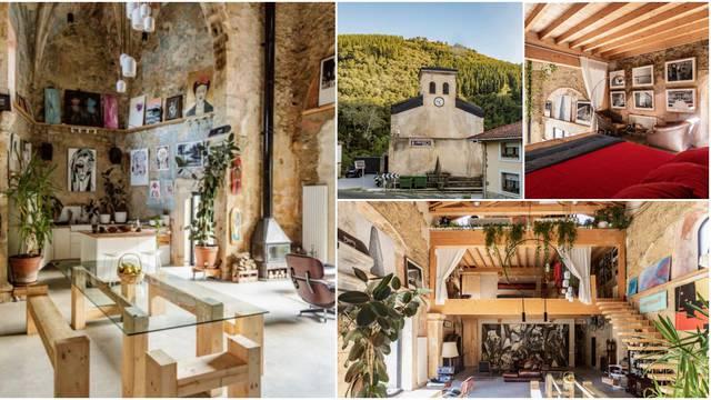 Staru crkvu pretvorio u dom: Trebale su mi četiri godine za to