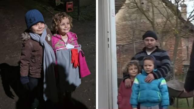 Sreća u obitelji Cerovski: Tea (5) i Gabrijel (6) dobili kontejner i konačno će spavati u toplom