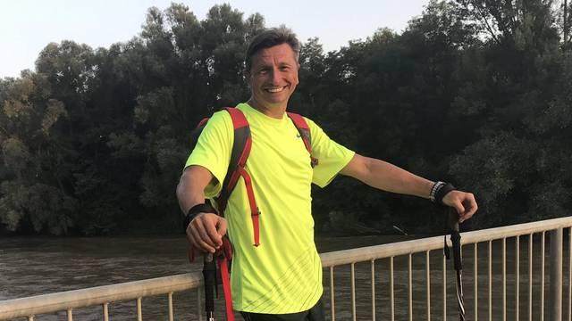 'U tjedan dana propješačit ću cijelu Sloveniju, cilj je u Piranu'