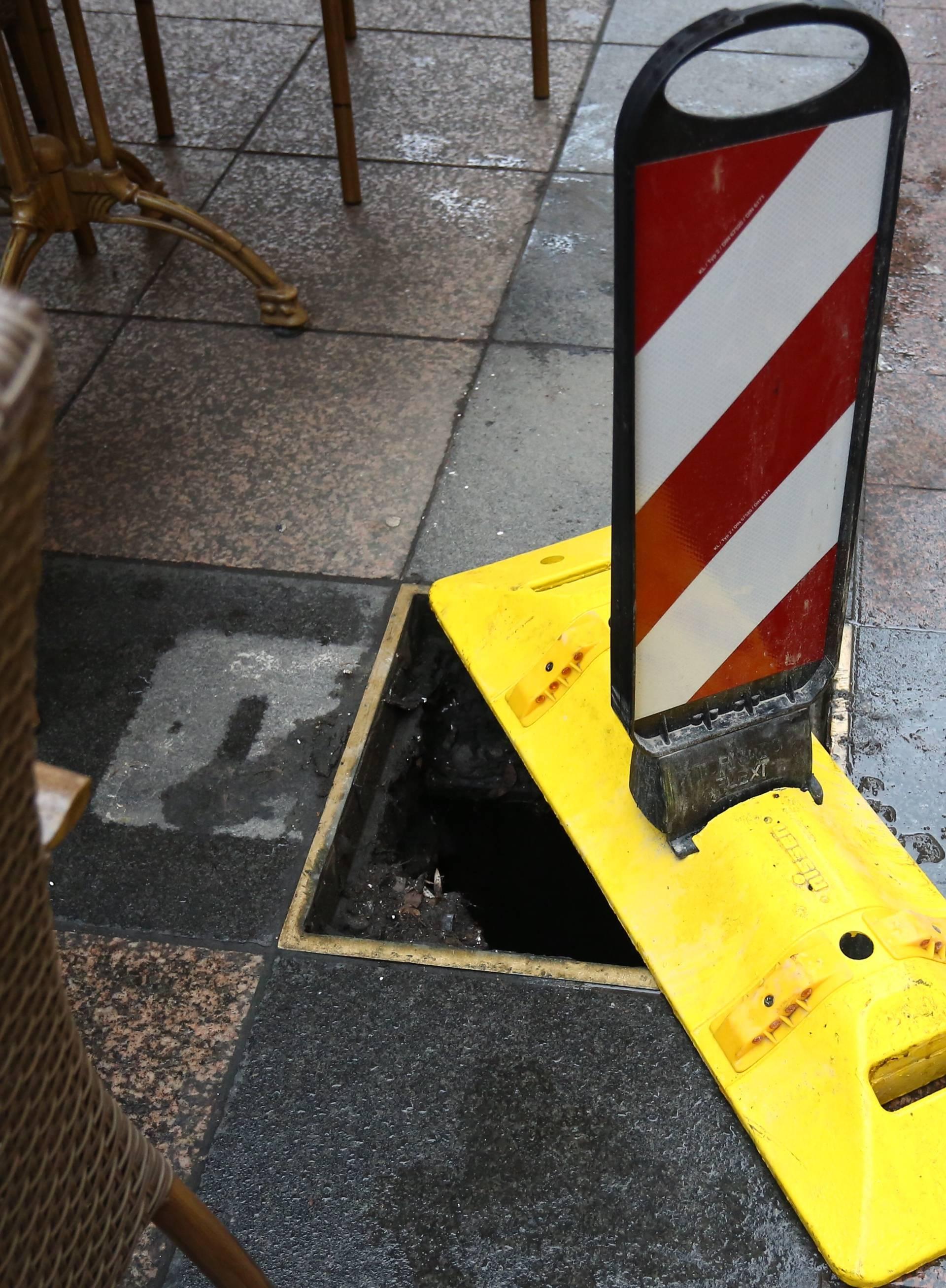 Uhitili su mladića (32) koji je u centru Zagreba krao šahtove