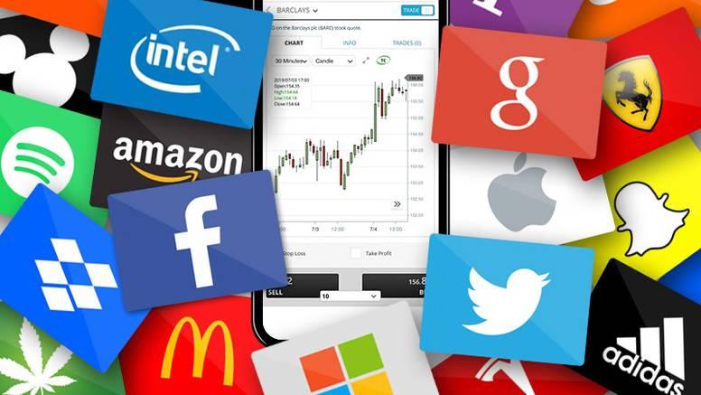 Kako se iz Hrvatske može trgovati cijenom dionica najvećih svjetskih tvrtki?