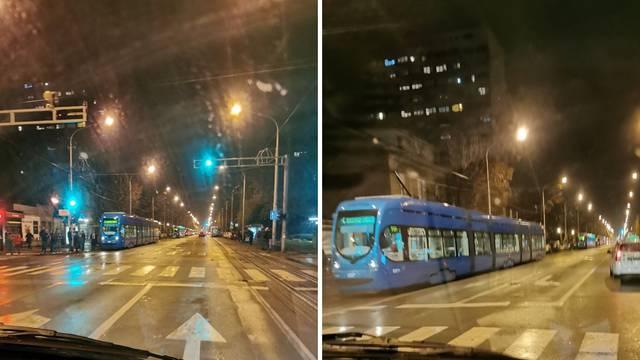 Tramvaj potrgao strujni vod pa nastao kaos na Maksimirskoj...