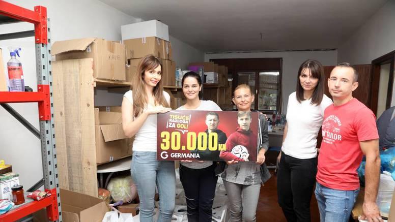 Tisuće razloga za gol – Germania volontirala u Glini