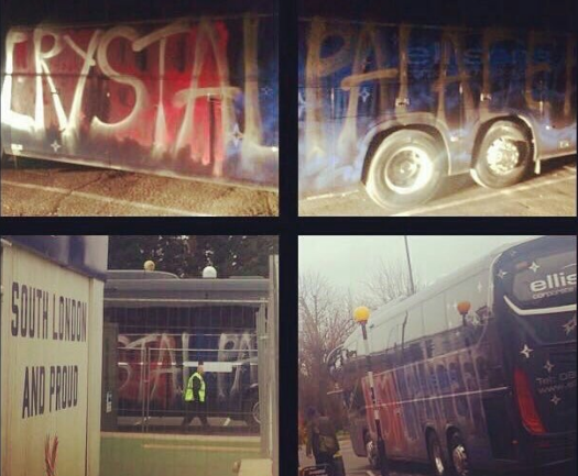 Kakvi bedaci! Navijači Crystal Palacea demolirali svoj autobus