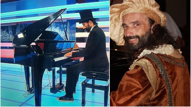 Svirao je klavir dok je drmalo: 'Tresli su se reflektori, mislio sam da će pasti, ali nisam stao'
