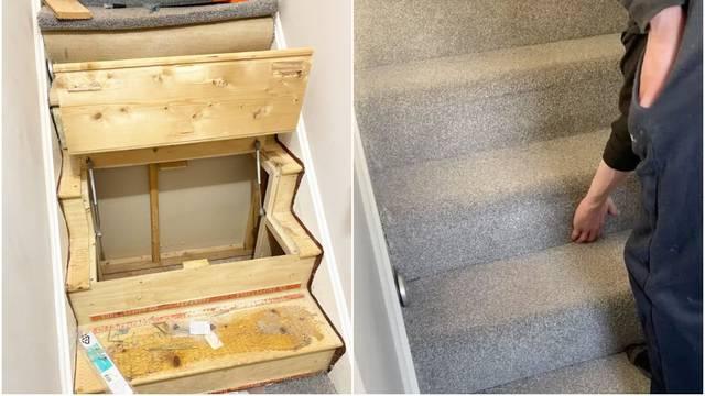 Domišljato rješenje: Sakrili su kutak za ostavu pod stepenice