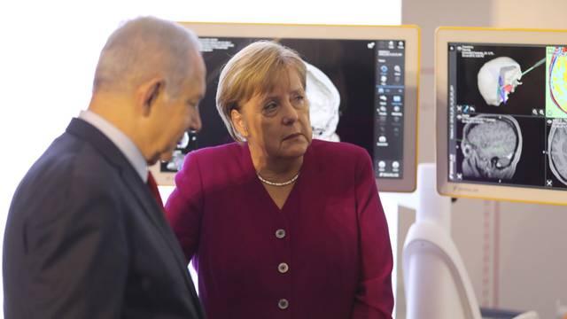 German Chancellor Angela Merkel visits Jerusalem