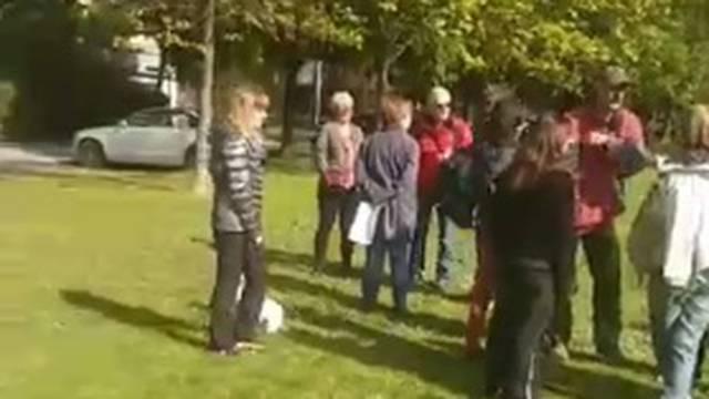 Drama na Savici: Grad postavio ogradu u park, ljudi na nogama