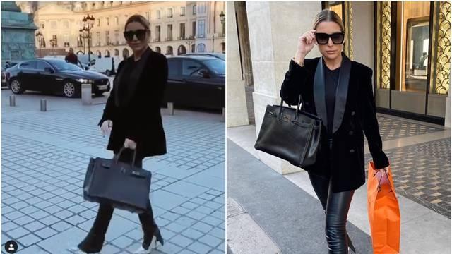 Prisjetila se Pariza: Leyla se hvali torbom od 200.000 kuna