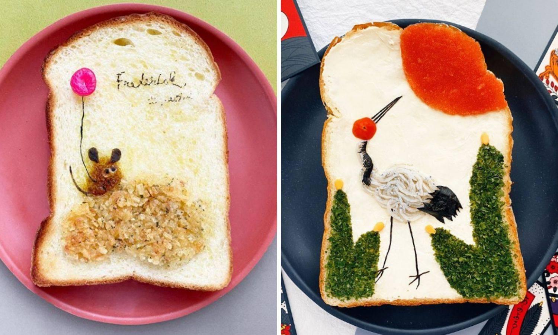 Toster kruh pretvara u pravu umjetnost: Pogledajte kreacije