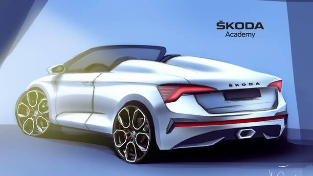Tko bi rekao: Ovaj atraktivni kabrio je Škoda Scala Spider