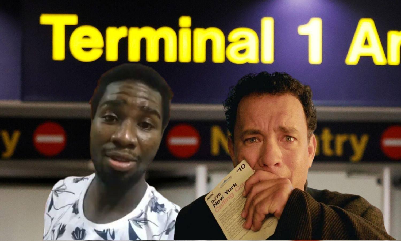 Ganski nogometaš živio je 74 dana u zračnoj luci, baš kao i Tom Hanks u filmu Terminal...