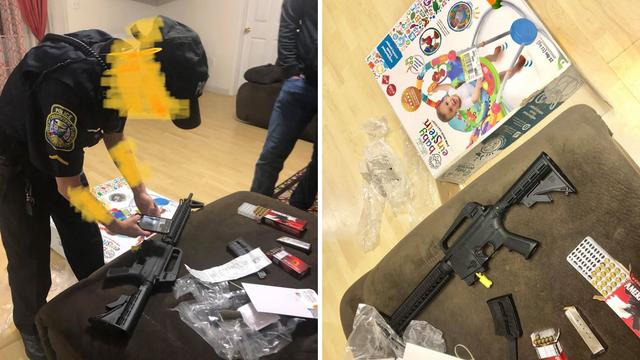 Umjesto njihalice za bebu žena je u kutiji  pronašla - pušku!