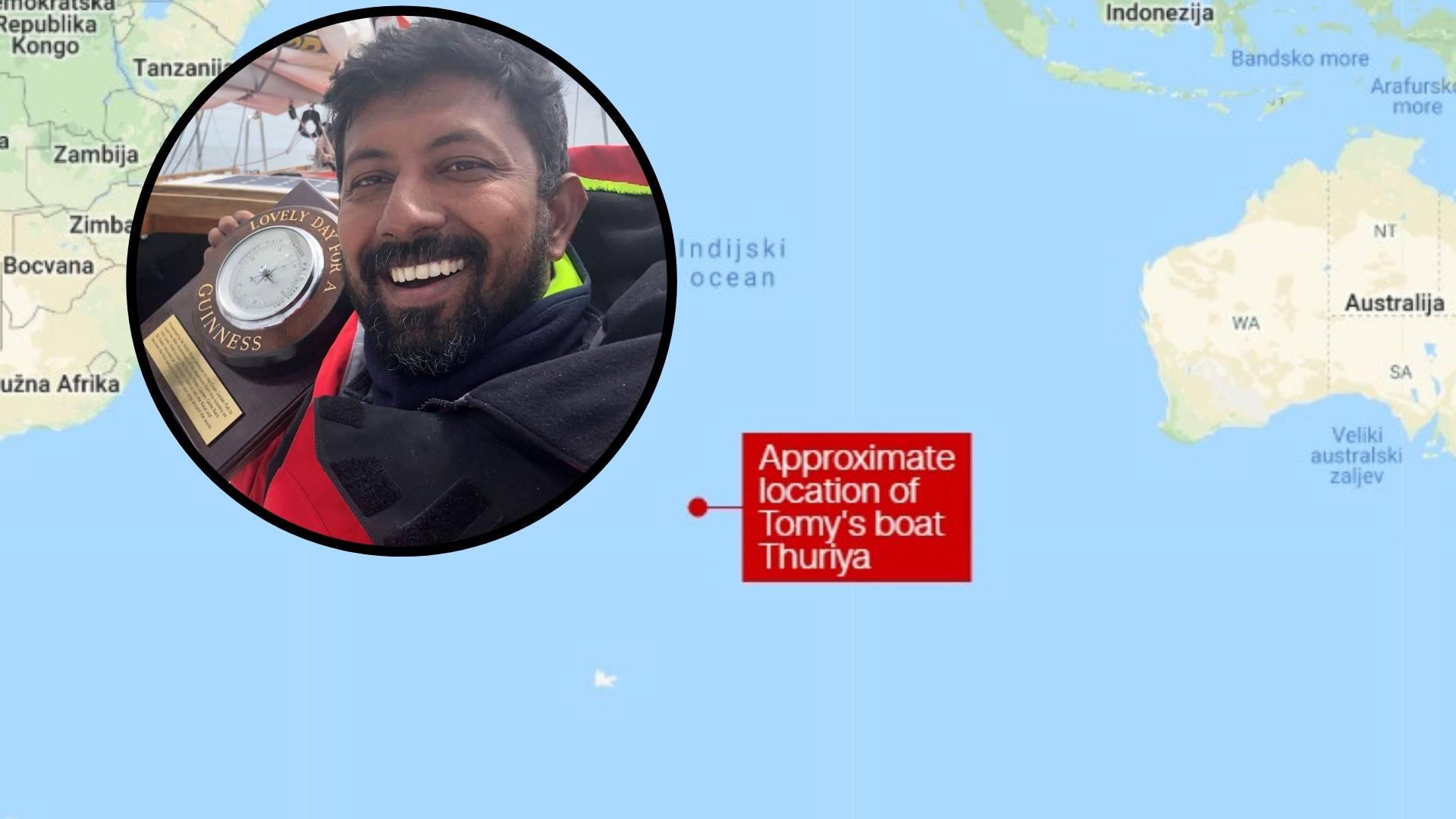 Bespomoćan pluta već 2 dana: 'Pomozite, ne mogu se micati'