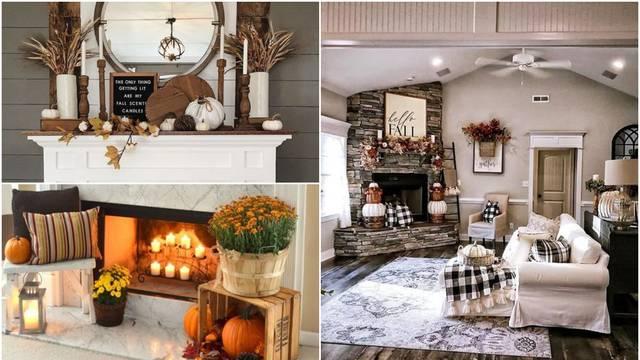 Suho cvijeće, bundeve, lišće i žirevi kao dekoracije za dom