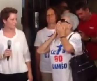 Super baka: Došla iz Vukovara kako bi vidjela srebrnog unuka