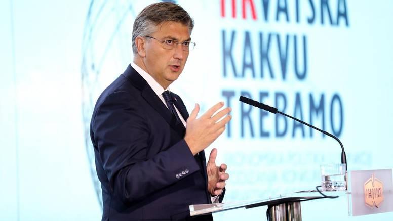 Plenković poručio: Cilj nam je da se prosječna plaća do 2023. godine popne na 1000 eura