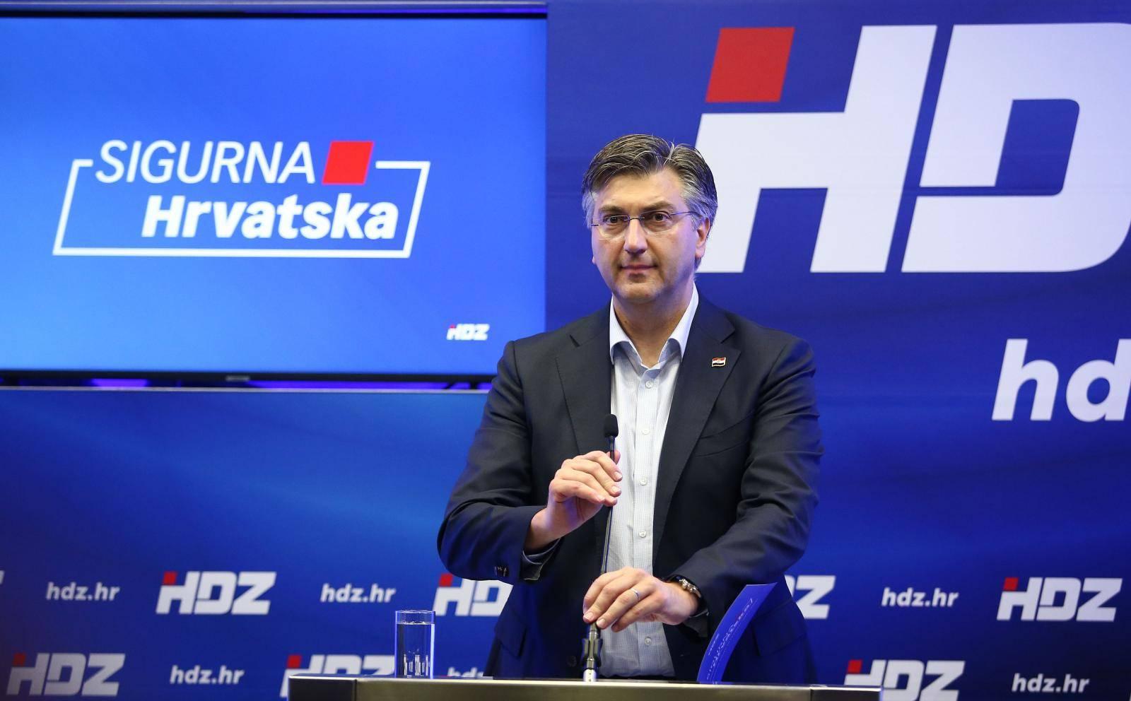 Zagreb: Predstavljanje kandidata na listi HDZ-a za I. izbornu jedinicu