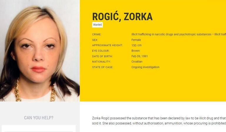 Lista najtraženijih: Na njoj je i Hrvatica, krijumčarila je drogu