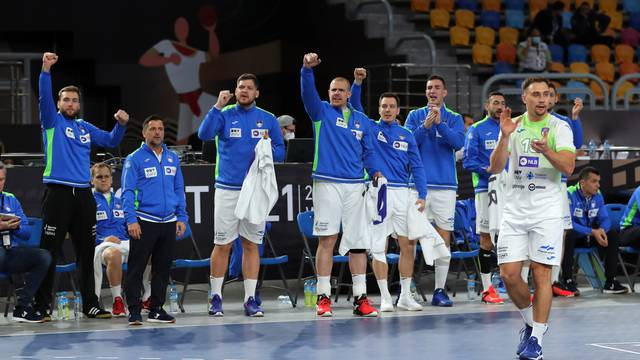 2021 IHF Handball World Championship - Main Round Group 4 - Slovenia v Sweden