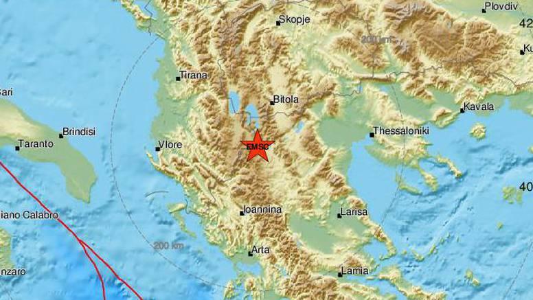 Sjever Grčke pogodio je novi snažan potres od 5,2 Richtera