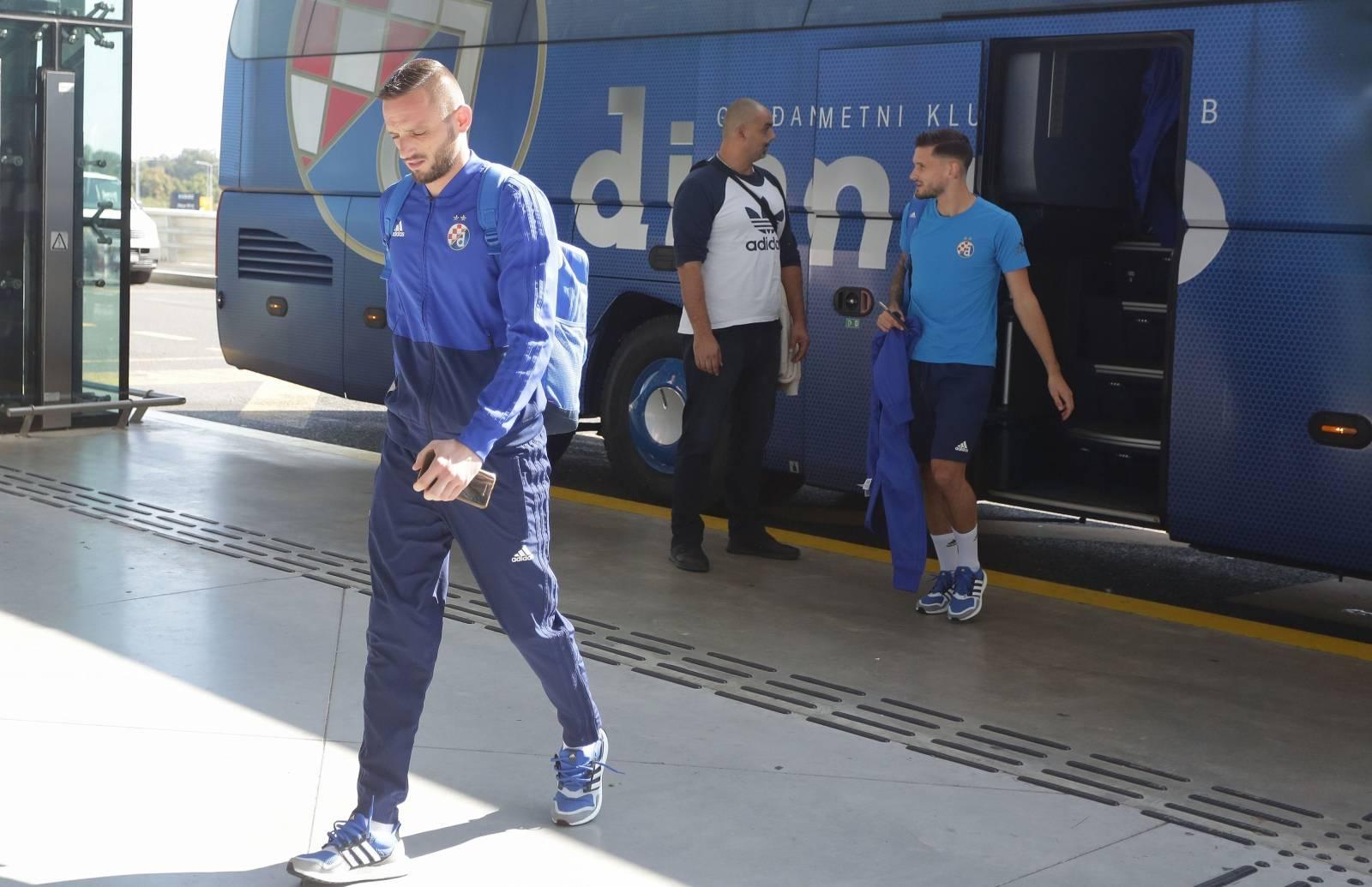 Zagreb: Momčad Dinama otputovala u Manchester