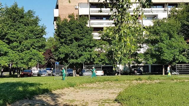 Uklonili ogradu iz parka Savici: Prosvjednici će 'ostati budni'