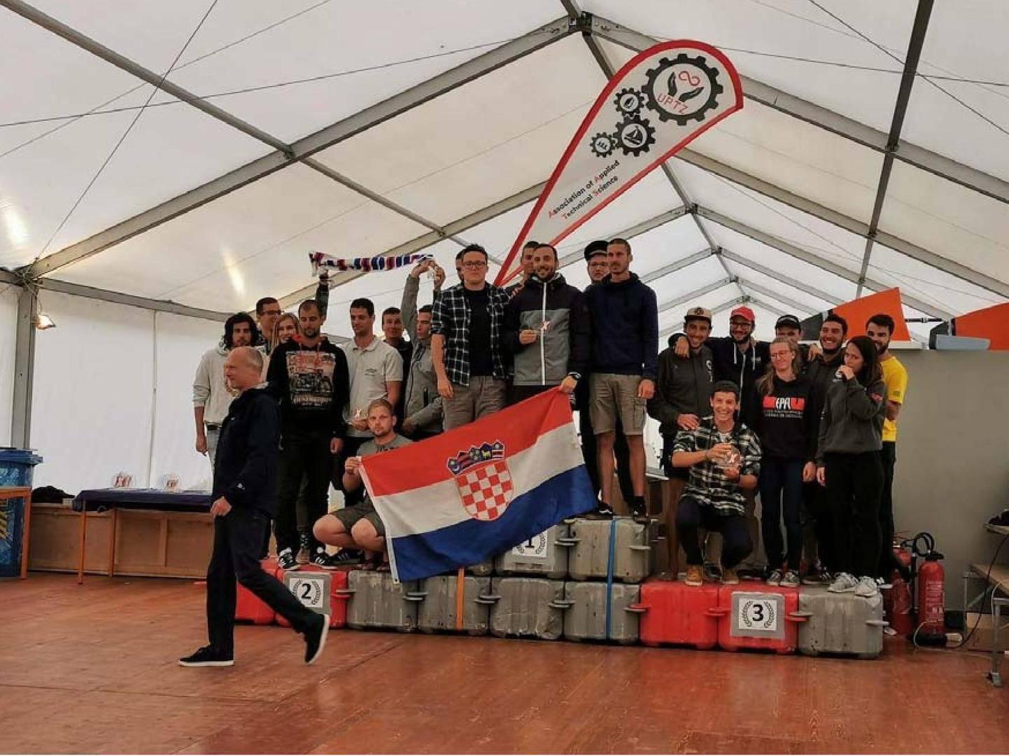 Studenti iz Rijeke električnim plovilom osvojili prvo mjesto