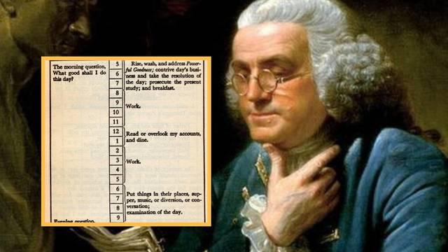 Učite od Benjamina Franklina: Dan je počeo i završio pitanjem