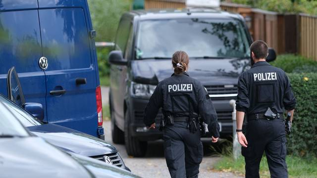 Maddie case: Police search allotment