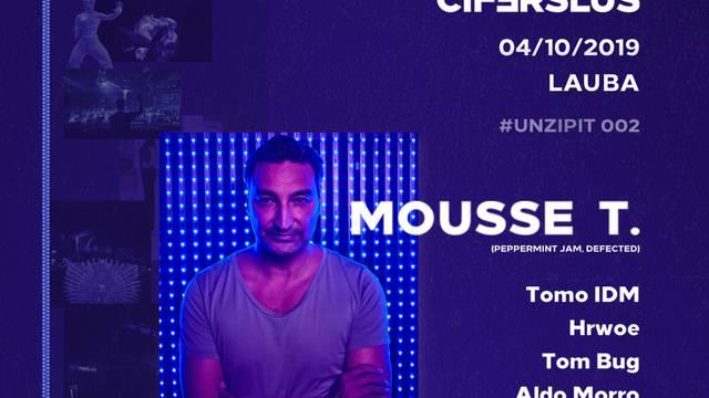 Legenda disco-house zvuka Mousse T. predvodi Ciferšlus