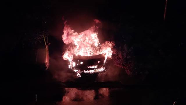Planuo BMW u Španskom, požar se proširio i na drugi auto