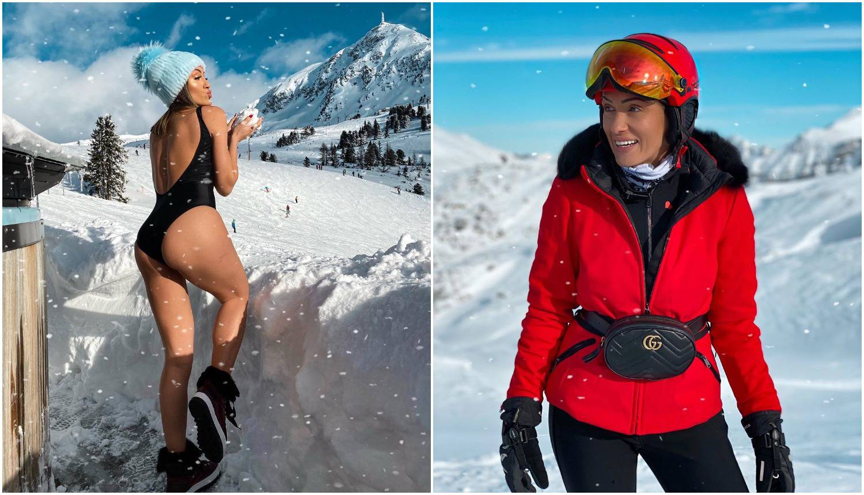 Hana izbacila guzu na snijegu i poručila: 'Opet sam najljepša'