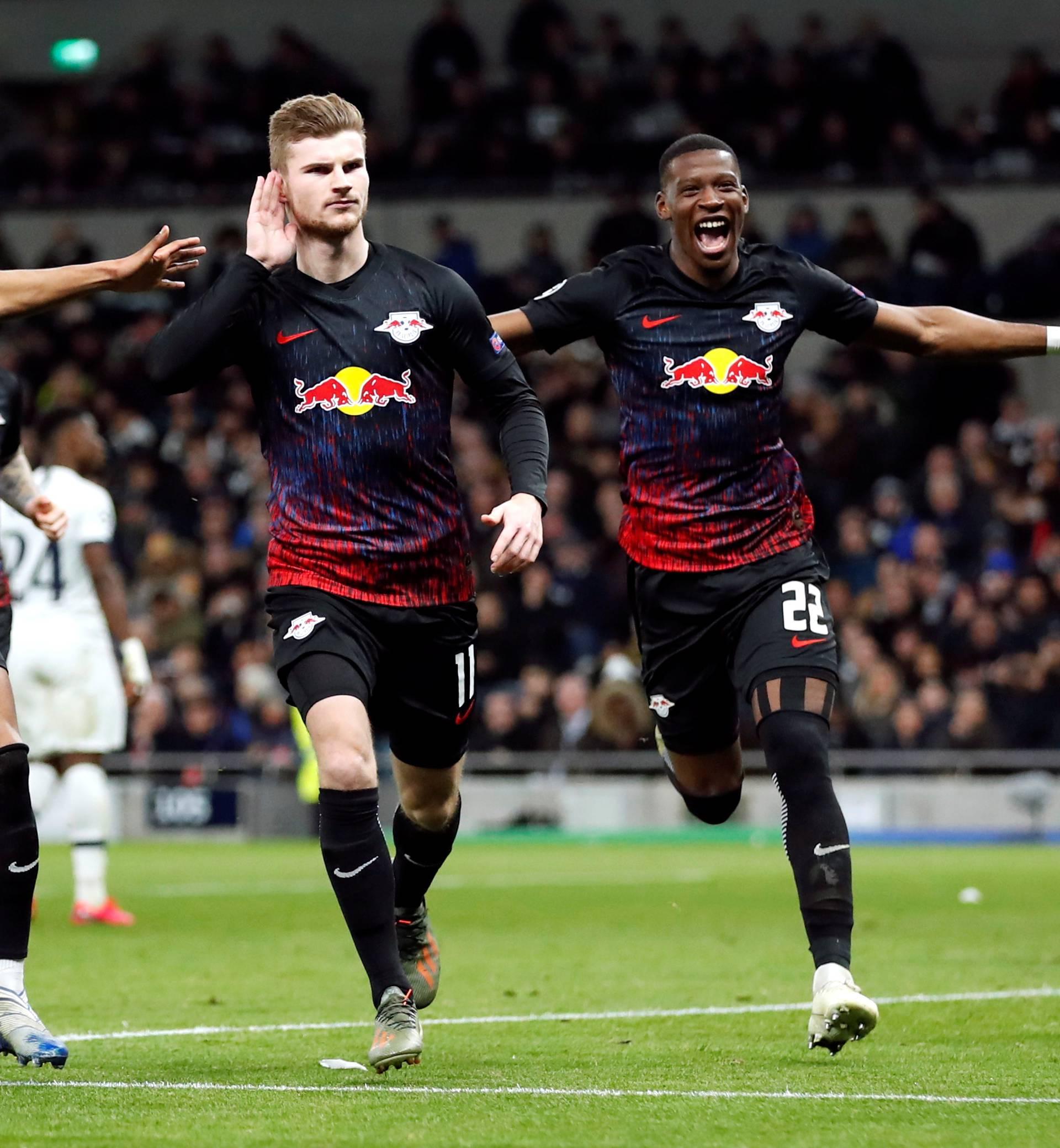 Champions League - Round of 16 First Leg - Tottenham Hotspur v RB Leipzig
