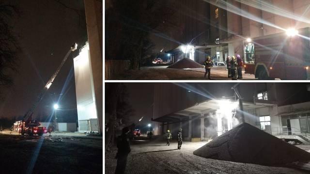 Požar u Zagrebu: Zapalila se sušara u kojoj je 100 tona soje