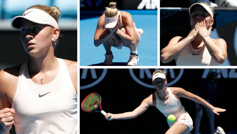 Cura od 15 godina apsolutna je senzacija na Australian Openu