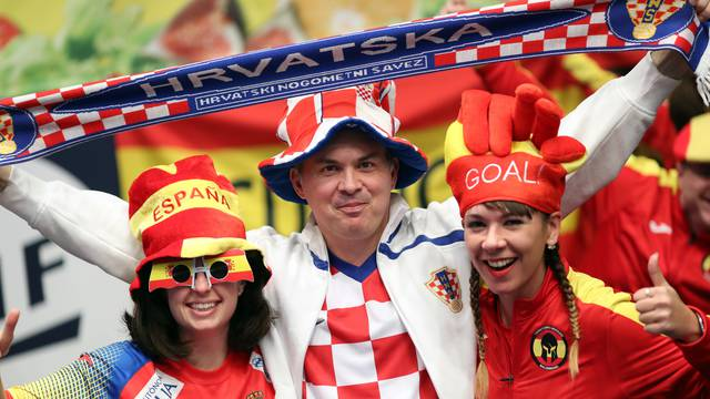 Hrvati su i sedmi put pobijedili na tribinama, čak i bez Shreka!