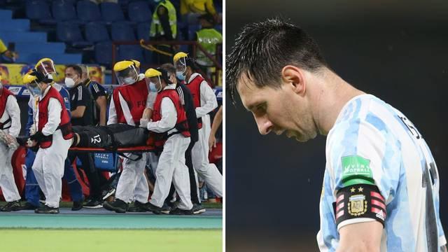 VIDEO Brazil i dalje stopostotan, Messi opet kiksao, Kolumbijca su morali iznijeti na nosilima...