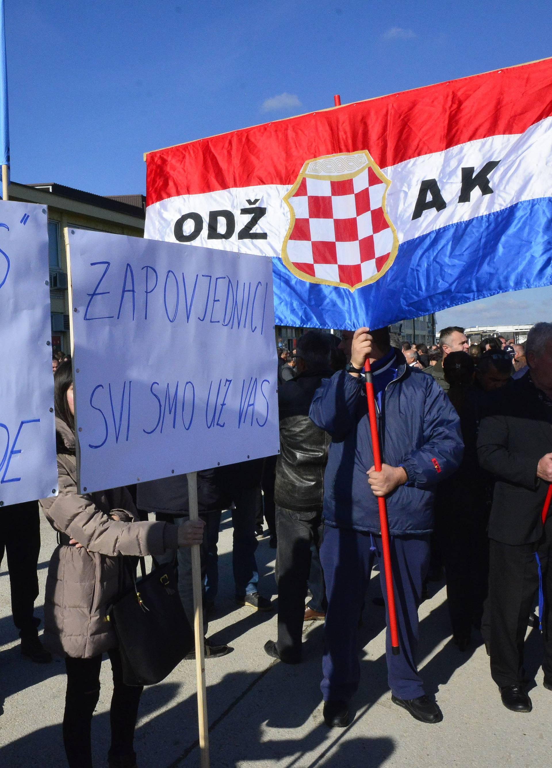 Ukinut kućni pritvor devetorici optuženih Hrvata iz Posavine