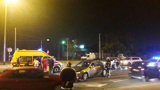 U sudaru auta u Zagrebu više ozlijeđenih, stigli i vatrogasci