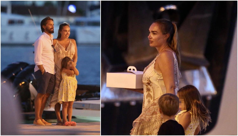 S brčkanja u moru na večeru: Tamara na jahtu ponijela tortu