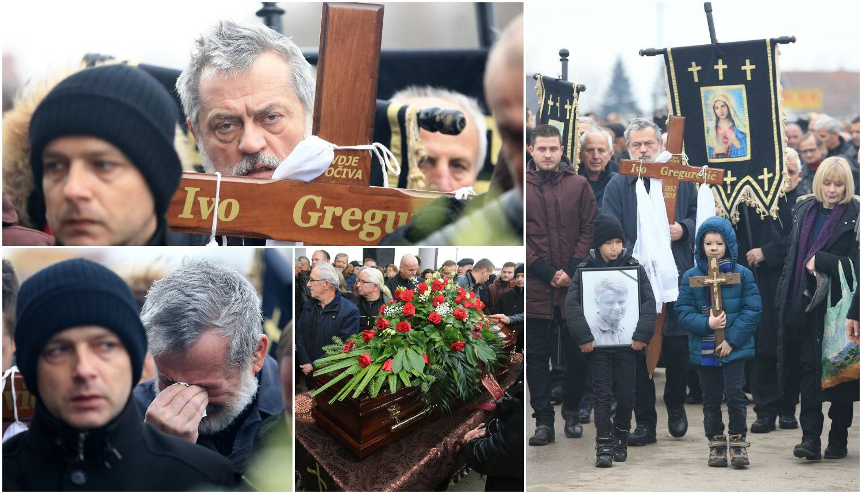 Cijeli kraj plakao na pogrebu: Kum Schmidt nosio mu je križ
