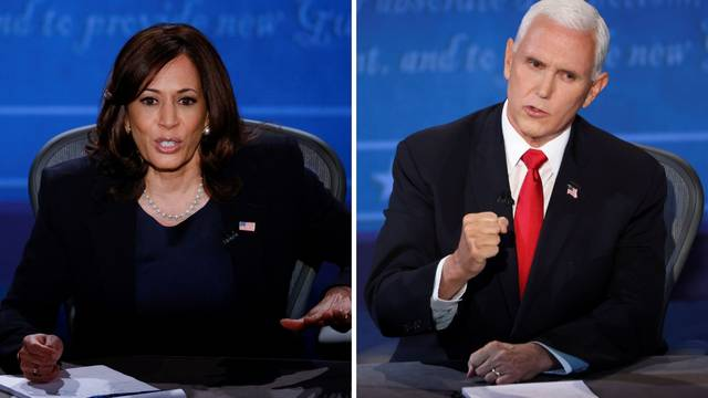 Trump u središtu debate: Pence branio šefa od napada Harris