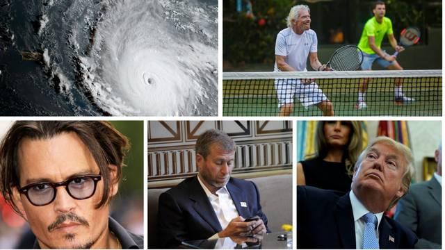 Irma će pogoditi otoke slavnih: Branson je sa svog odbio otići